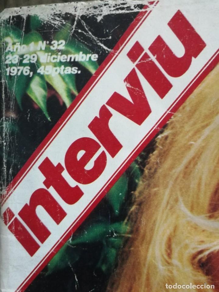 Coleccionismo de Revista Interviú: LOTE 49 REVISTAS INTERVIU ANTIGUAS - Foto 4 - 133414506
