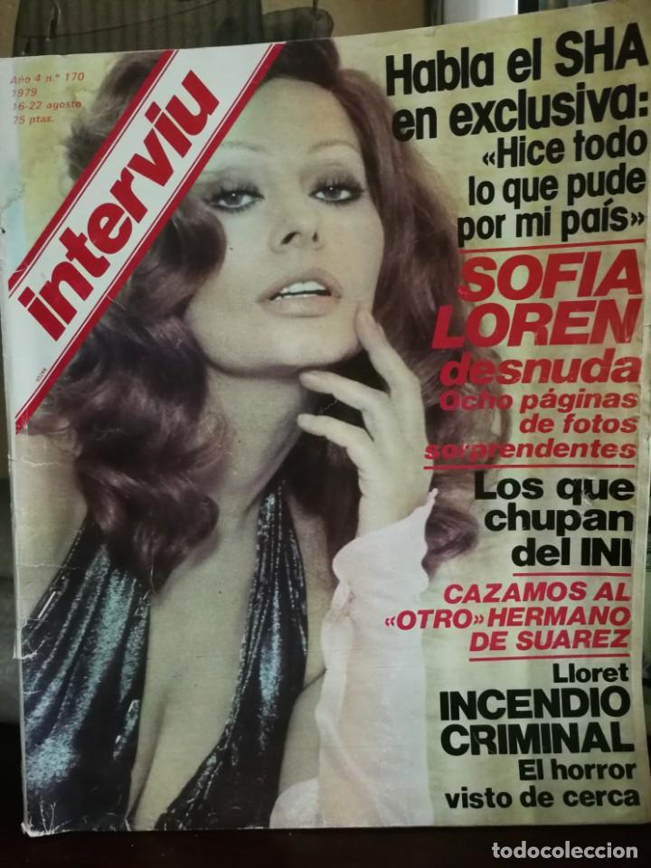 Coleccionismo de Revista Interviú: LOTE 49 REVISTAS INTERVIU ANTIGUAS - Foto 5 - 133414506