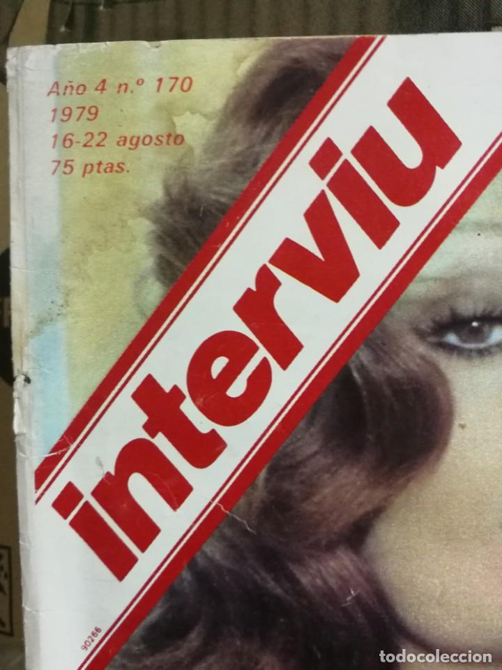 Coleccionismo de Revista Interviú: LOTE 49 REVISTAS INTERVIU ANTIGUAS - Foto 6 - 133414506