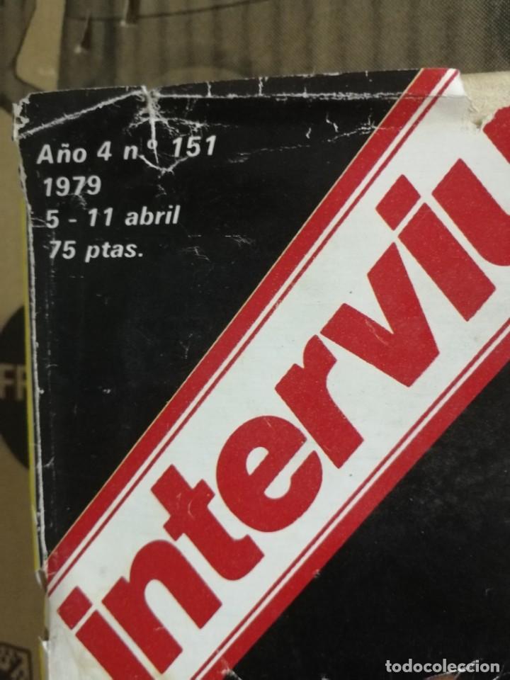 Coleccionismo de Revista Interviú: LOTE 49 REVISTAS INTERVIU ANTIGUAS - Foto 8 - 133414506
