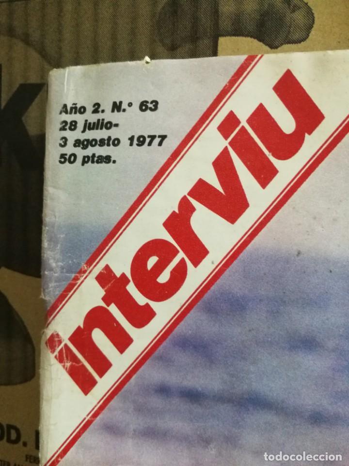 Coleccionismo de Revista Interviú: LOTE 49 REVISTAS INTERVIU ANTIGUAS - Foto 10 - 133414506