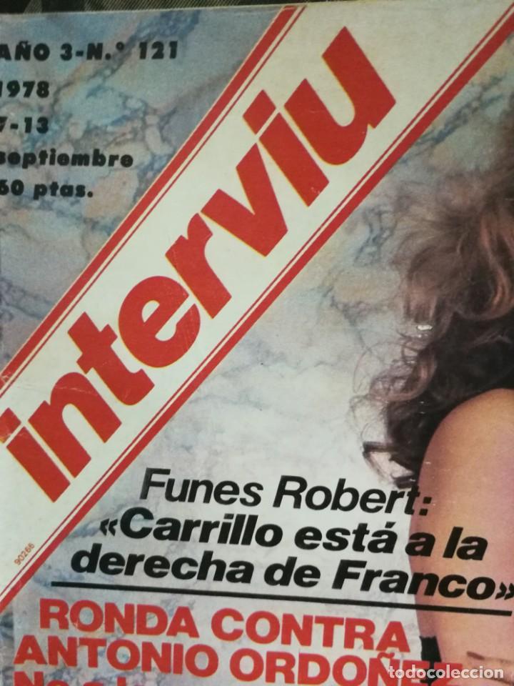 Coleccionismo de Revista Interviú: LOTE 49 REVISTAS INTERVIU ANTIGUAS - Foto 12 - 133414506