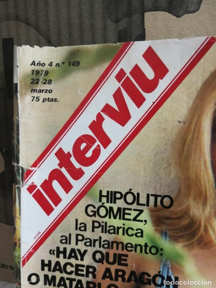 Coleccionismo de Revista Interviú: LOTE 49 REVISTAS INTERVIU ANTIGUAS - Foto 14 - 133414506