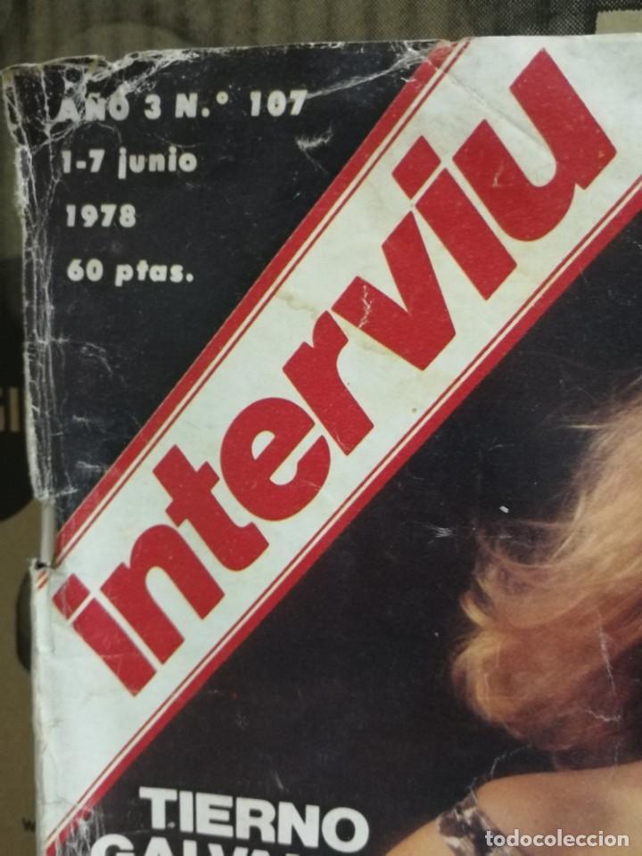 Coleccionismo de Revista Interviú: LOTE 49 REVISTAS INTERVIU ANTIGUAS - Foto 16 - 133414506