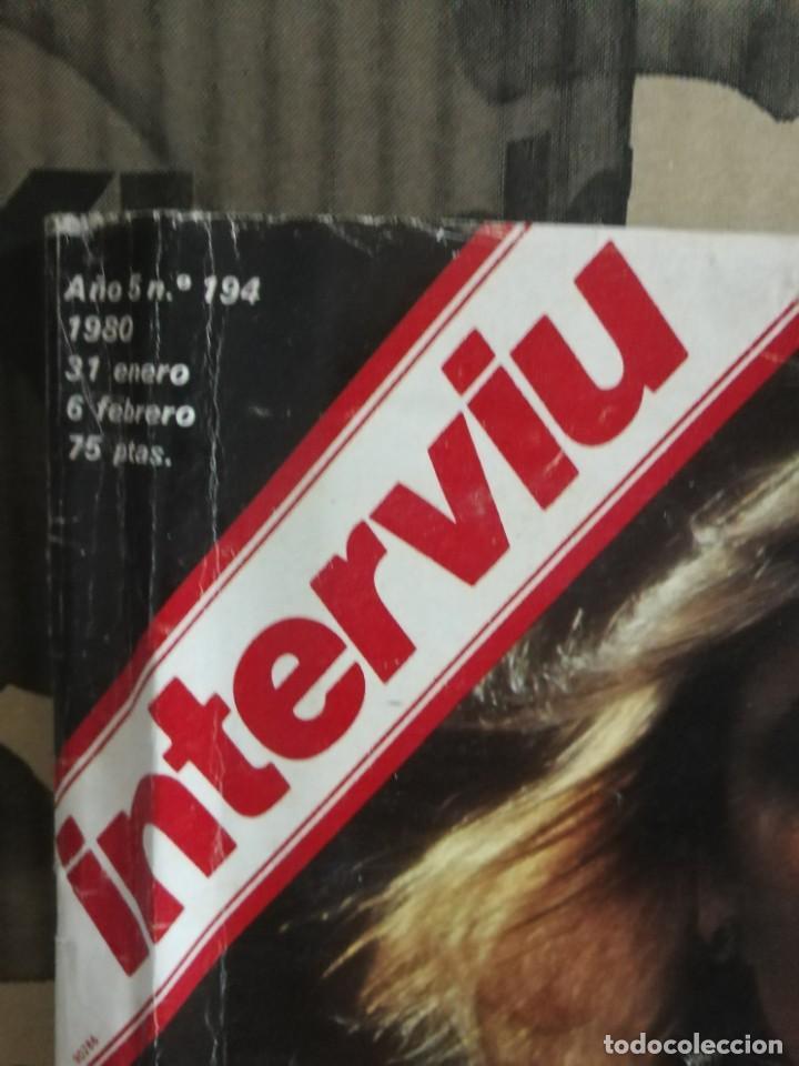 Coleccionismo de Revista Interviú: LOTE 49 REVISTAS INTERVIU ANTIGUAS - Foto 20 - 133414506