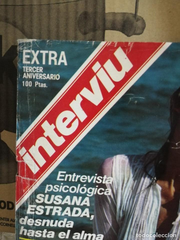 Coleccionismo de Revista Interviú: LOTE 49 REVISTAS INTERVIU ANTIGUAS - Foto 22 - 133414506