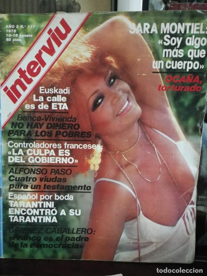 Coleccionismo de Revista Interviú: LOTE 49 REVISTAS INTERVIU ANTIGUAS - Foto 23 - 133414506