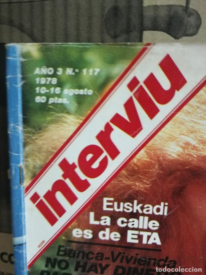 Coleccionismo de Revista Interviú: LOTE 49 REVISTAS INTERVIU ANTIGUAS - Foto 24 - 133414506