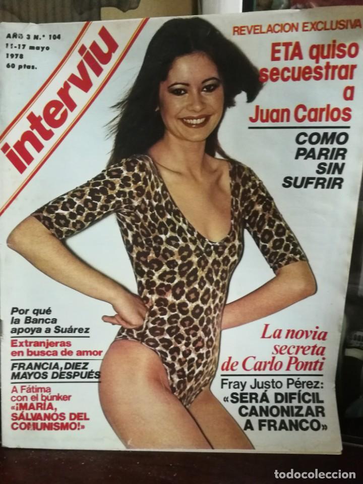 Coleccionismo de Revista Interviú: LOTE 49 REVISTAS INTERVIU ANTIGUAS - Foto 27 - 133414506