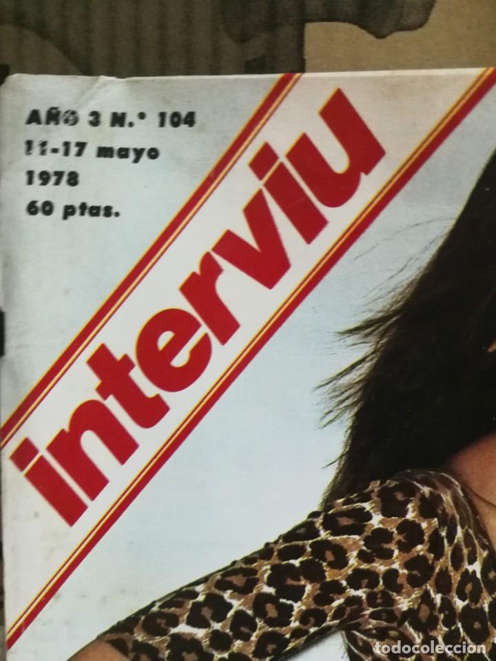 Coleccionismo de Revista Interviú: LOTE 49 REVISTAS INTERVIU ANTIGUAS - Foto 28 - 133414506