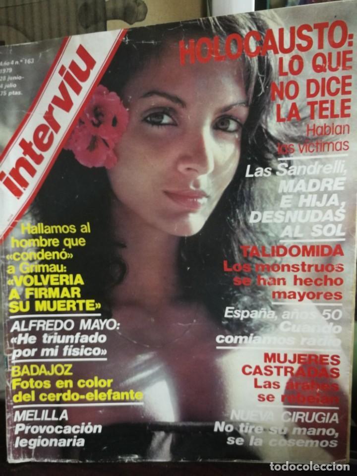 Coleccionismo de Revista Interviú: LOTE 49 REVISTAS INTERVIU ANTIGUAS - Foto 29 - 133414506