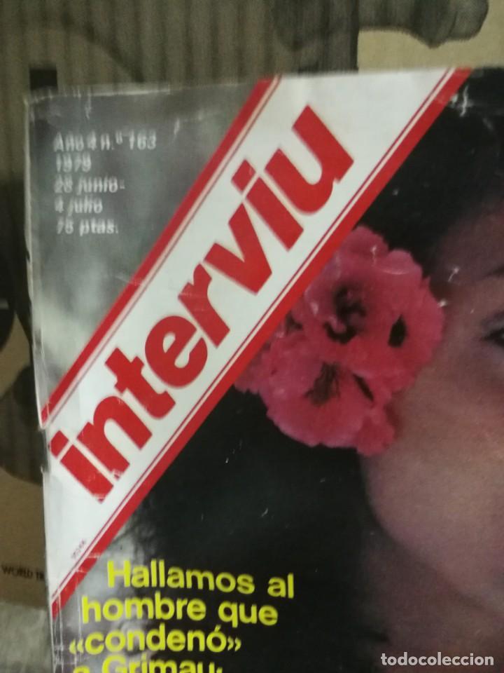 Coleccionismo de Revista Interviú: LOTE 49 REVISTAS INTERVIU ANTIGUAS - Foto 30 - 133414506