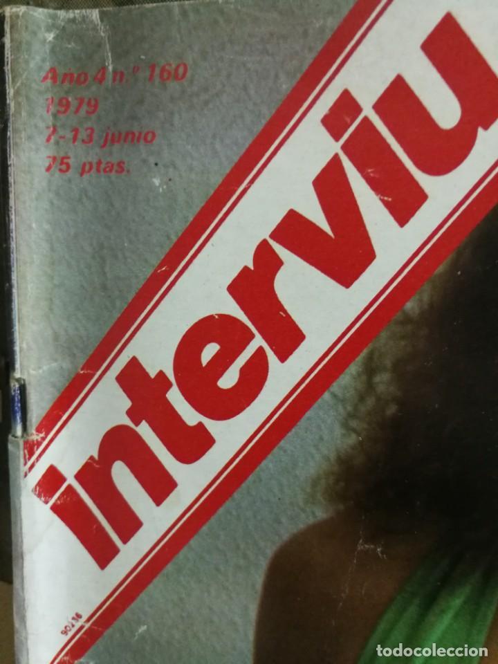 Coleccionismo de Revista Interviú: LOTE 49 REVISTAS INTERVIU ANTIGUAS - Foto 36 - 133414506