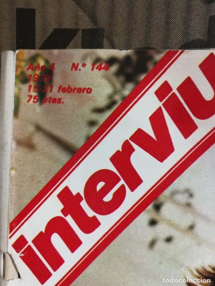 Coleccionismo de Revista Interviú: LOTE 49 REVISTAS INTERVIU ANTIGUAS - Foto 38 - 133414506