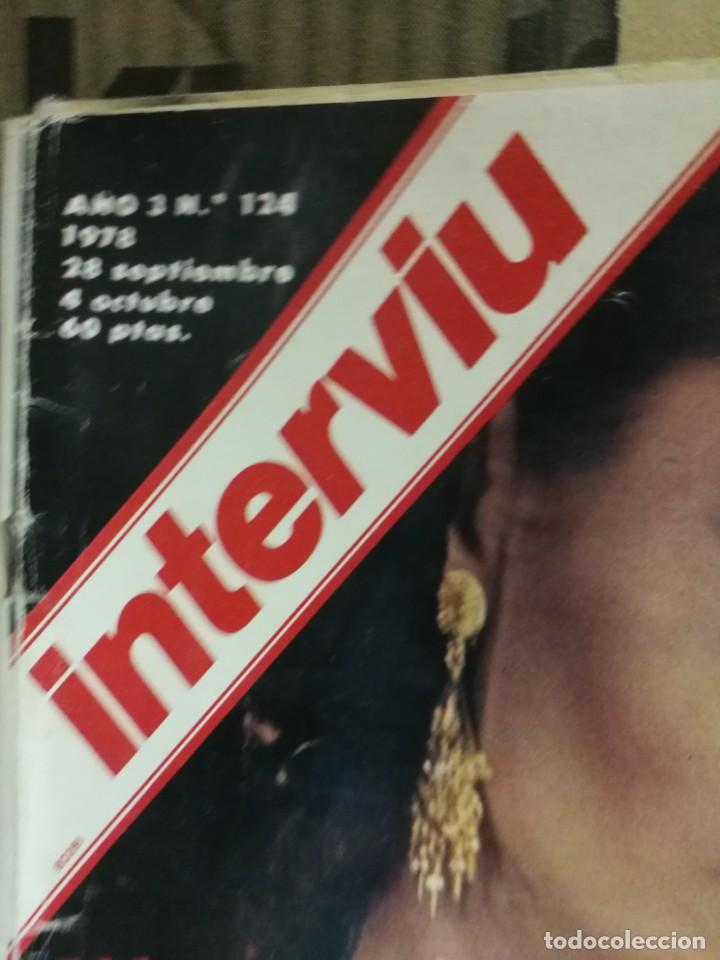 Coleccionismo de Revista Interviú: LOTE 49 REVISTAS INTERVIU ANTIGUAS - Foto 40 - 133414506