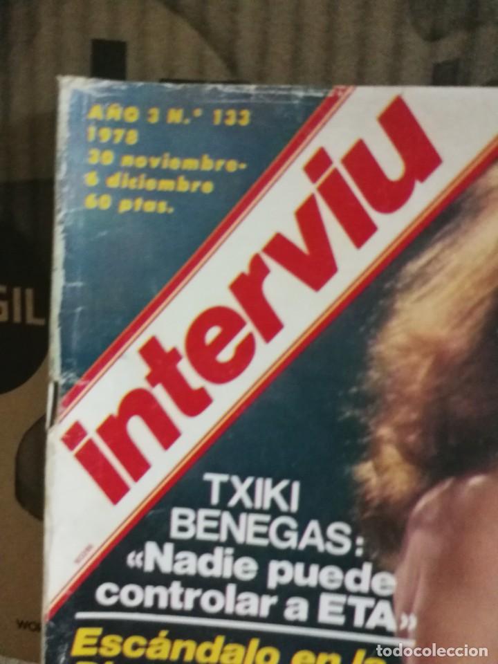 Coleccionismo de Revista Interviú: LOTE 49 REVISTAS INTERVIU ANTIGUAS - Foto 42 - 133414506