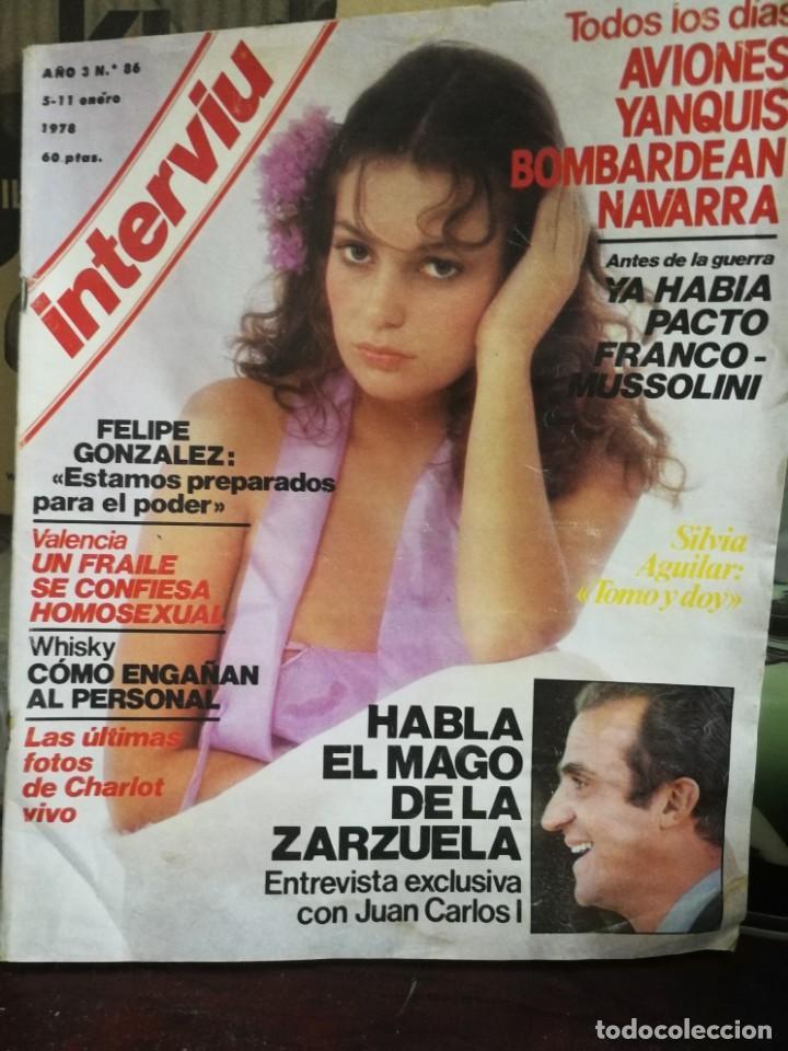 Coleccionismo de Revista Interviú: LOTE 49 REVISTAS INTERVIU ANTIGUAS - Foto 43 - 133414506