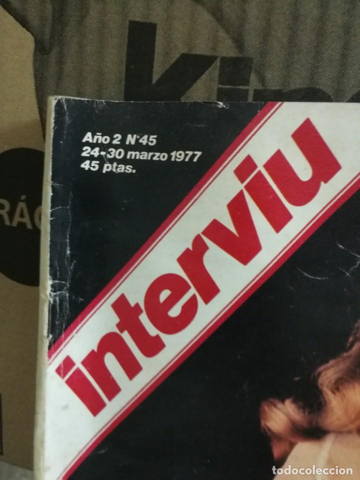 Coleccionismo de Revista Interviú: LOTE 49 REVISTAS INTERVIU ANTIGUAS - Foto 46 - 133414506