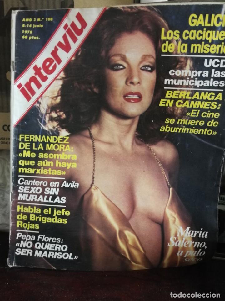 Coleccionismo de Revista Interviú: LOTE 49 REVISTAS INTERVIU ANTIGUAS - Foto 47 - 133414506