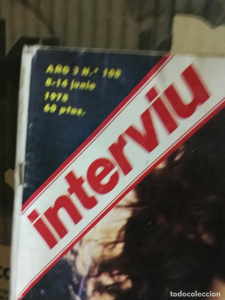 Coleccionismo de Revista Interviú: LOTE 49 REVISTAS INTERVIU ANTIGUAS - Foto 48 - 133414506