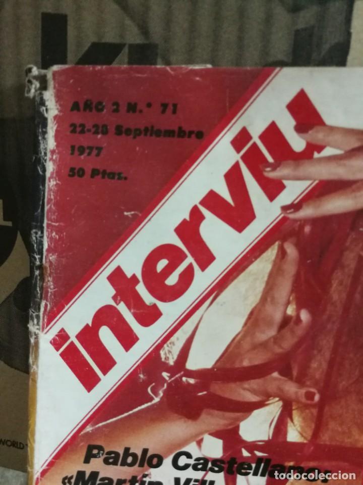 Coleccionismo de Revista Interviú: LOTE 49 REVISTAS INTERVIU ANTIGUAS - Foto 50 - 133414506