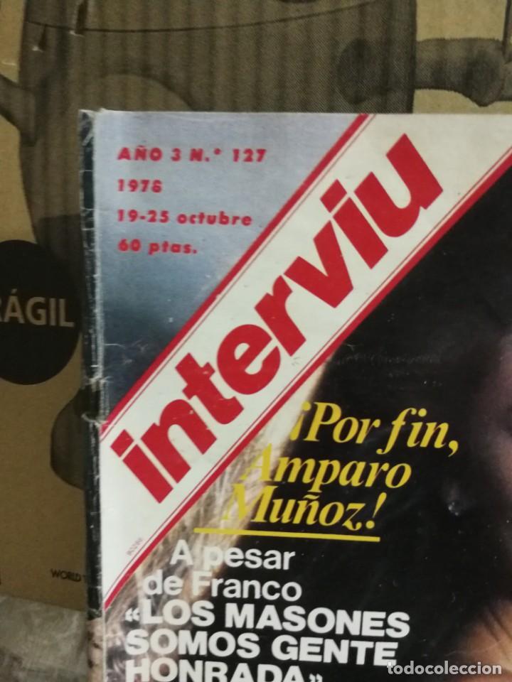 Coleccionismo de Revista Interviú: LOTE 49 REVISTAS INTERVIU ANTIGUAS - Foto 52 - 133414506