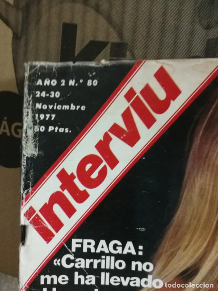 Coleccionismo de Revista Interviú: LOTE 49 REVISTAS INTERVIU ANTIGUAS - Foto 54 - 133414506
