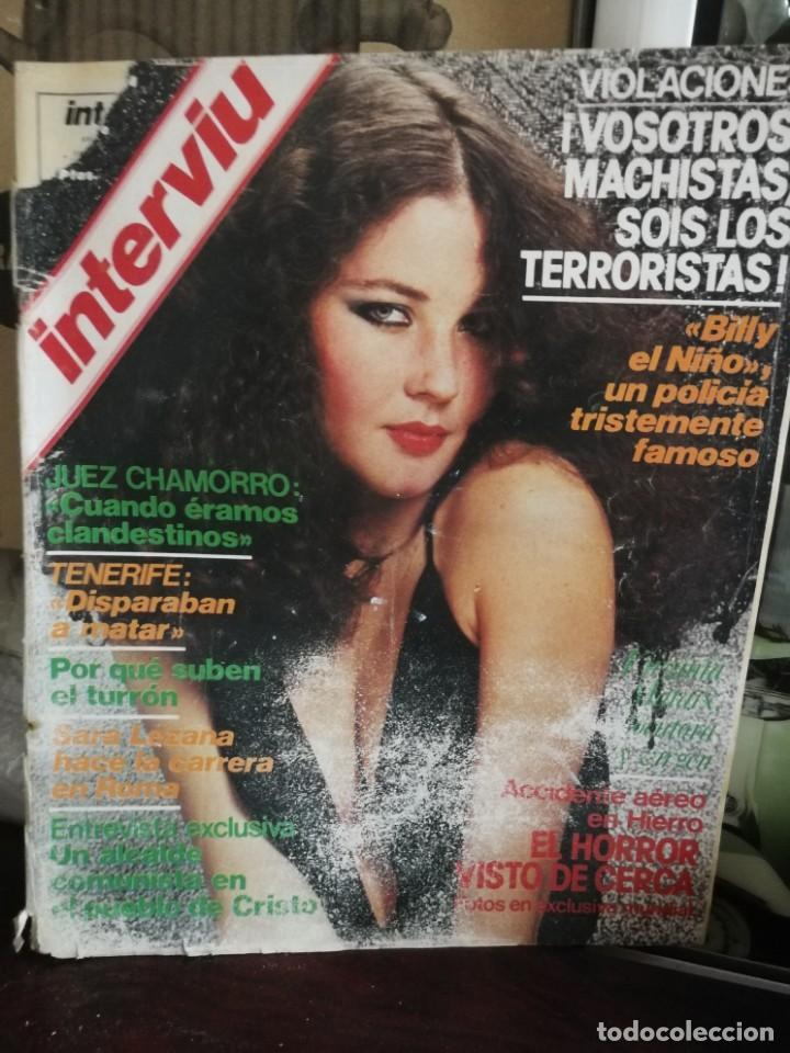 Coleccionismo de Revista Interviú: LOTE 49 REVISTAS INTERVIU ANTIGUAS - Foto 55 - 133414506