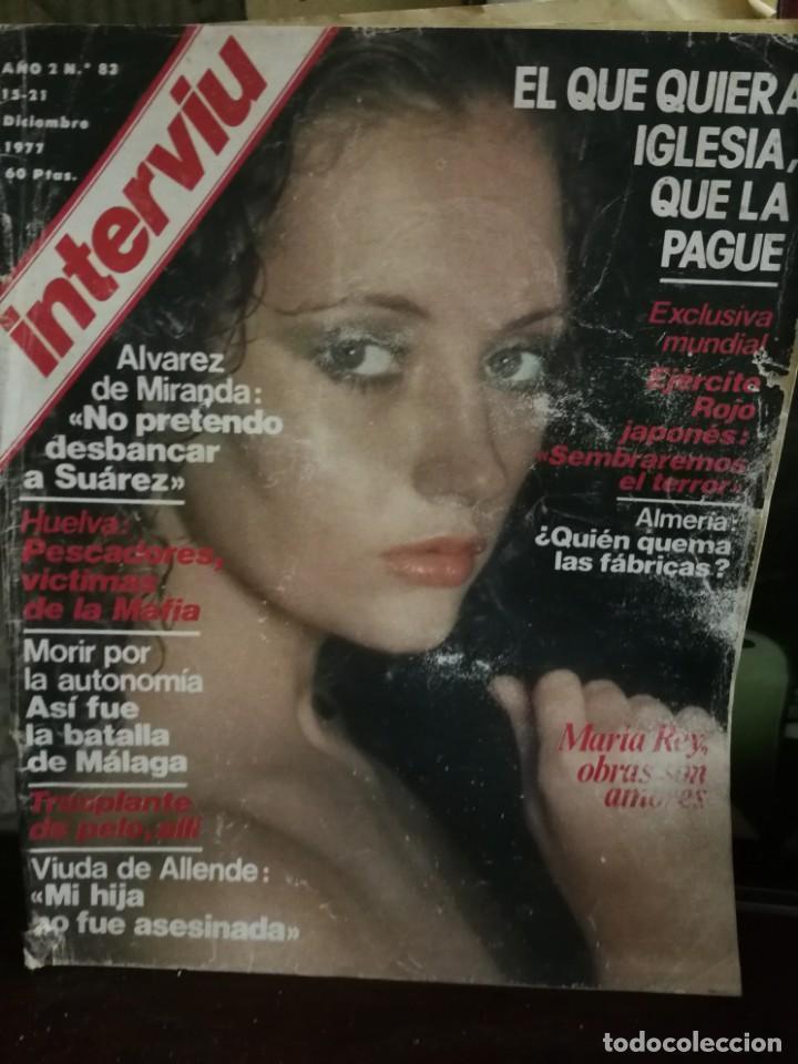 Coleccionismo de Revista Interviú: LOTE 49 REVISTAS INTERVIU ANTIGUAS - Foto 57 - 133414506