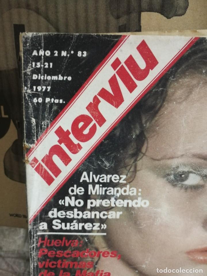 Coleccionismo de Revista Interviú: LOTE 49 REVISTAS INTERVIU ANTIGUAS - Foto 58 - 133414506