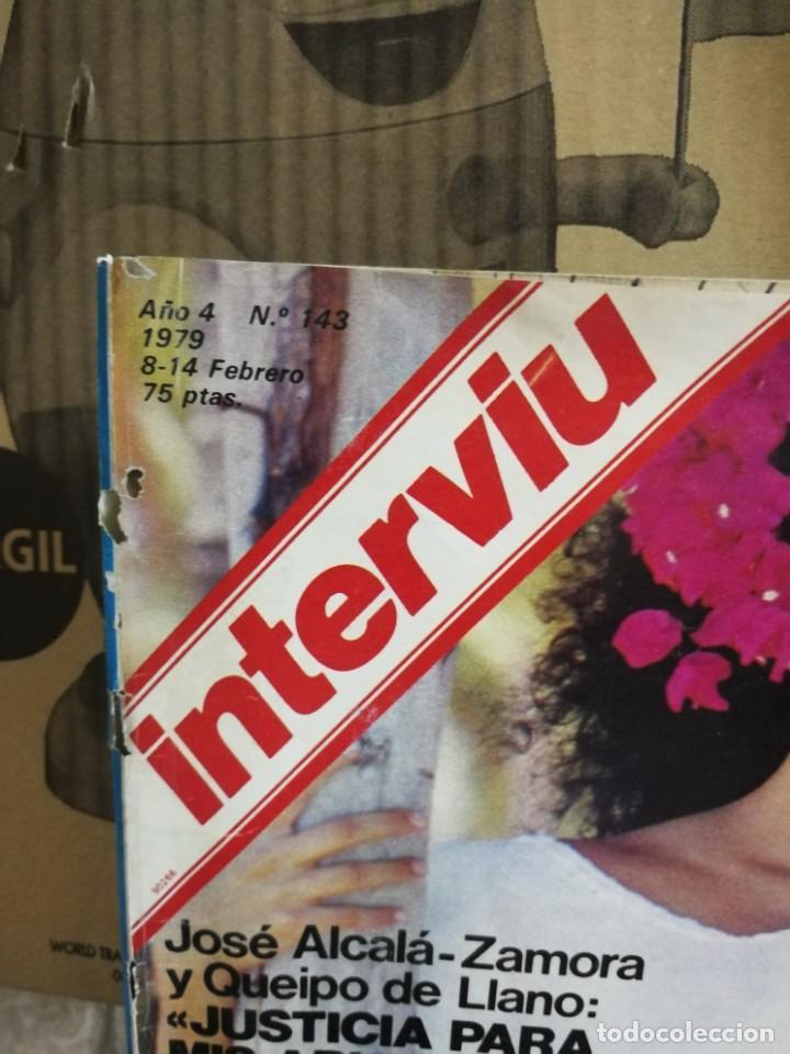 Coleccionismo de Revista Interviú: LOTE 49 REVISTAS INTERVIU ANTIGUAS - Foto 60 - 133414506