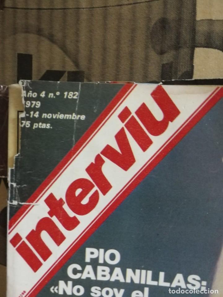 Coleccionismo de Revista Interviú: LOTE 49 REVISTAS INTERVIU ANTIGUAS - Foto 62 - 133414506