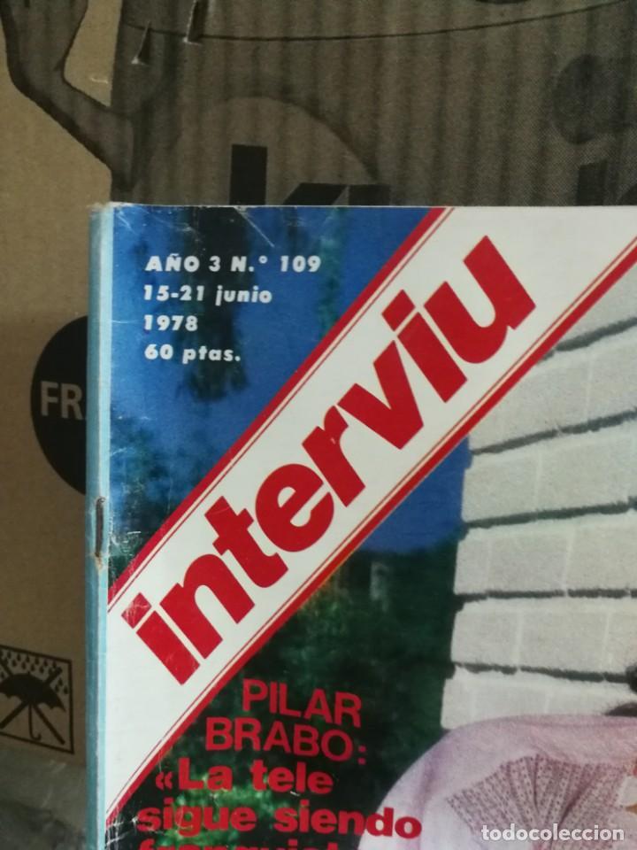 Coleccionismo de Revista Interviú: LOTE 49 REVISTAS INTERVIU ANTIGUAS - Foto 64 - 133414506
