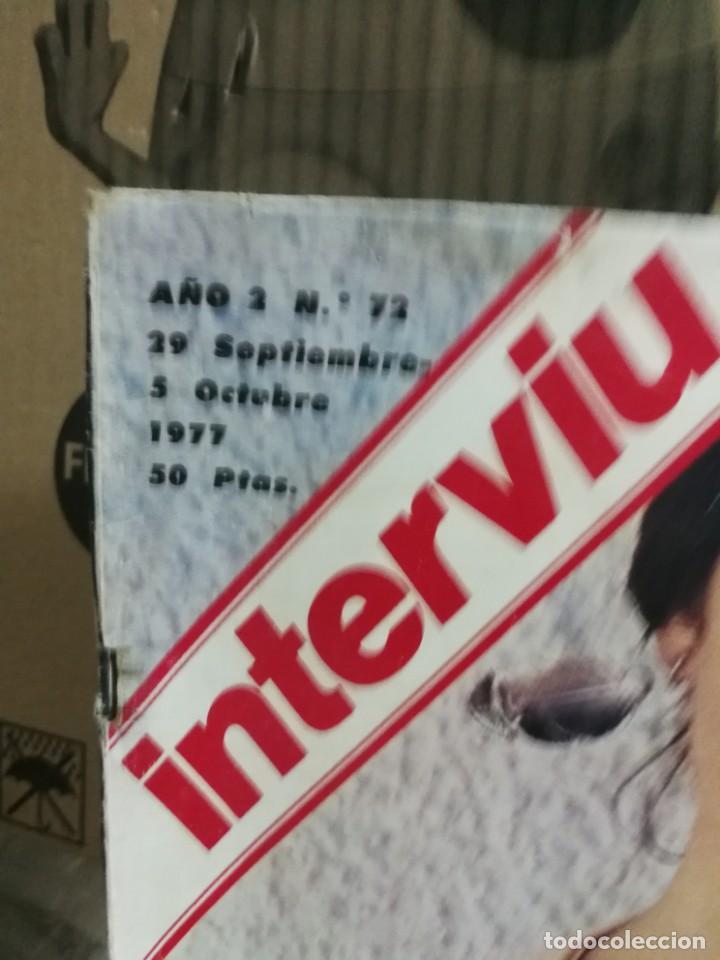 Coleccionismo de Revista Interviú: LOTE 49 REVISTAS INTERVIU ANTIGUAS - Foto 66 - 133414506