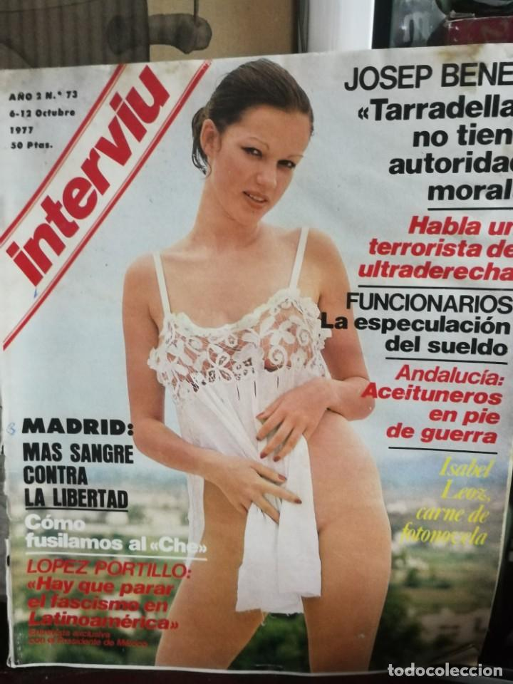 Coleccionismo de Revista Interviú: LOTE 49 REVISTAS INTERVIU ANTIGUAS - Foto 67 - 133414506