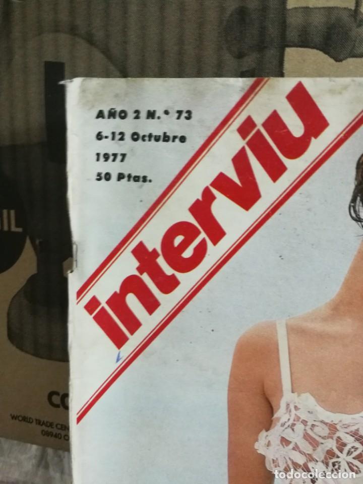 Coleccionismo de Revista Interviú: LOTE 49 REVISTAS INTERVIU ANTIGUAS - Foto 68 - 133414506