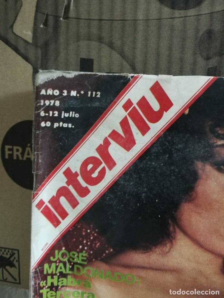 Coleccionismo de Revista Interviú: LOTE 49 REVISTAS INTERVIU ANTIGUAS - Foto 72 - 133414506
