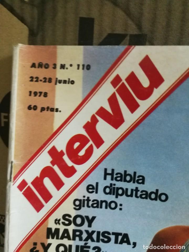 Coleccionismo de Revista Interviú: LOTE 49 REVISTAS INTERVIU ANTIGUAS - Foto 74 - 133414506