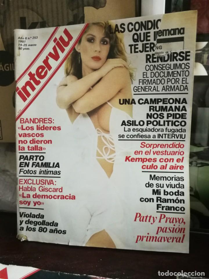 Coleccionismo de Revista Interviú: LOTE 49 REVISTAS INTERVIU ANTIGUAS - Foto 75 - 133414506