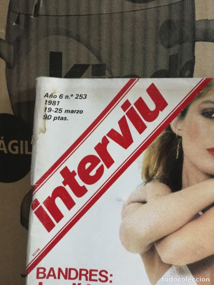 Coleccionismo de Revista Interviú: LOTE 49 REVISTAS INTERVIU ANTIGUAS - Foto 76 - 133414506