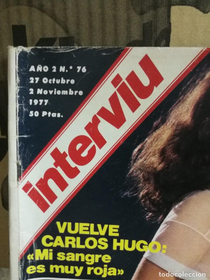 Coleccionismo de Revista Interviú: LOTE 49 REVISTAS INTERVIU ANTIGUAS - Foto 80 - 133414506
