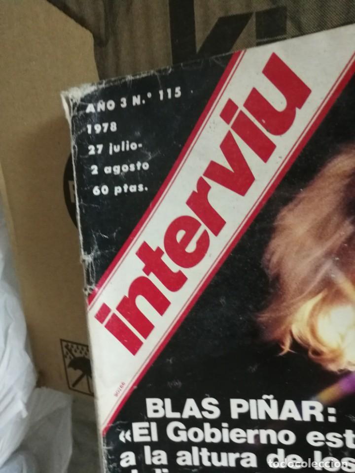 Coleccionismo de Revista Interviú: LOTE 49 REVISTAS INTERVIU ANTIGUAS - Foto 82 - 133414506