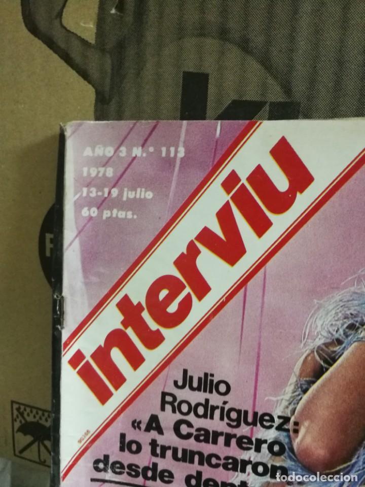 Coleccionismo de Revista Interviú: LOTE 49 REVISTAS INTERVIU ANTIGUAS - Foto 84 - 133414506