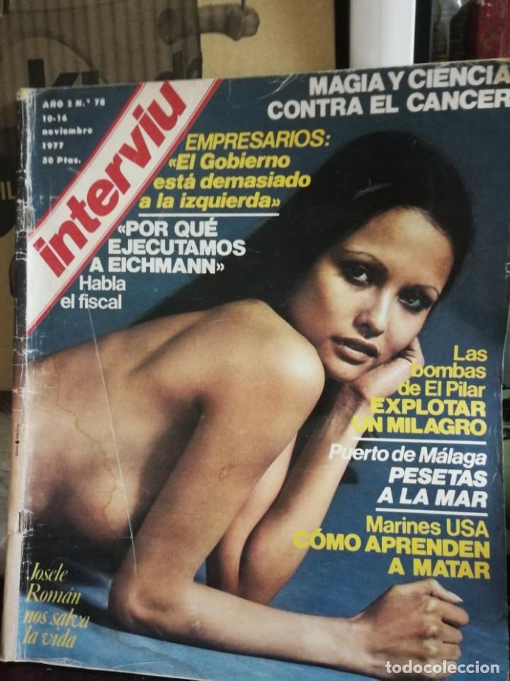 Coleccionismo de Revista Interviú: LOTE 49 REVISTAS INTERVIU ANTIGUAS - Foto 85 - 133414506