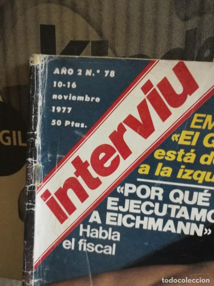 Coleccionismo de Revista Interviú: LOTE 49 REVISTAS INTERVIU ANTIGUAS - Foto 86 - 133414506