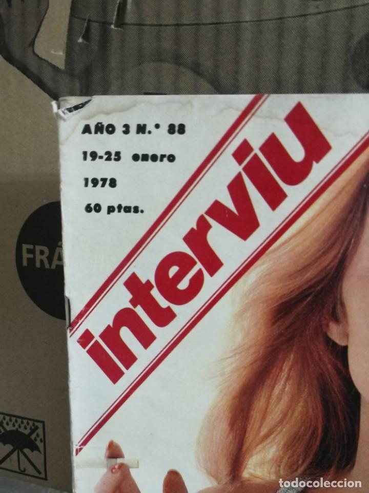 Coleccionismo de Revista Interviú: LOTE 49 REVISTAS INTERVIU ANTIGUAS - Foto 88 - 133414506
