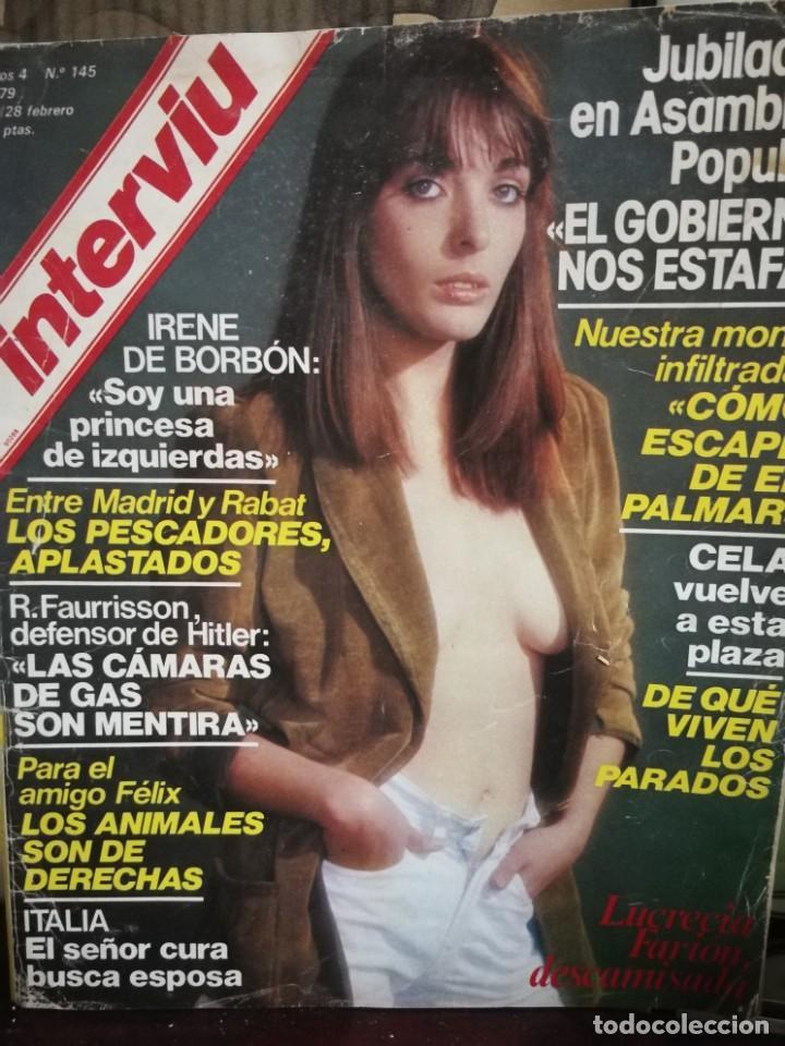 Coleccionismo de Revista Interviú: LOTE 49 REVISTAS INTERVIU ANTIGUAS - Foto 89 - 133414506