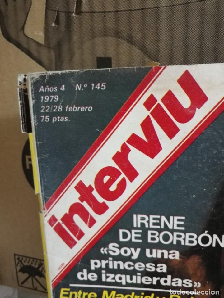 Coleccionismo de Revista Interviú: LOTE 49 REVISTAS INTERVIU ANTIGUAS - Foto 90 - 133414506