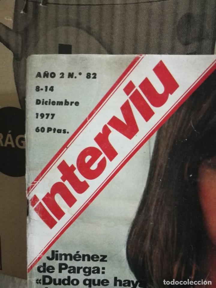 Coleccionismo de Revista Interviú: LOTE 49 REVISTAS INTERVIU ANTIGUAS - Foto 92 - 133414506