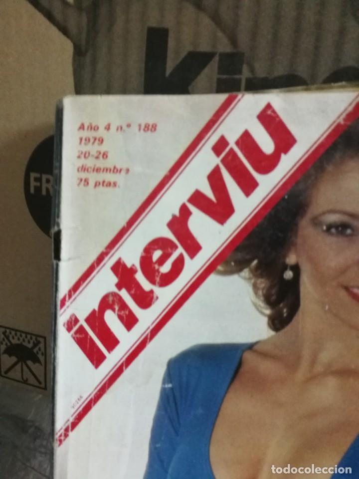 Coleccionismo de Revista Interviú: LOTE 49 REVISTAS INTERVIU ANTIGUAS - Foto 94 - 133414506